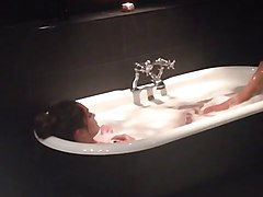 Nikki Bella short Vine in the Bathtub
