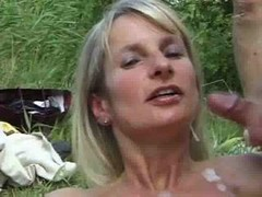 Spermanneke Outdoor Sex Bukkake Gangbang