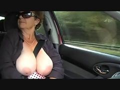 Granny Nude Outdoor