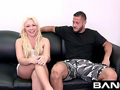 katerina kay enjoys being choked and auditions for bang!