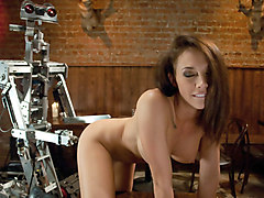 Hottest fetish porn clip with best pornstar Chanel Preston from Fuckingmachines