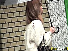 fetish japanese peeing