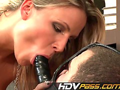 blonde babe samantha jolie domination