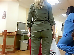 ANGRY WEDGIE AND VPL ON MILF