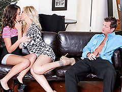 Delilah Davis & Julia Ann & Eric Masterson in My Husband Brought Home His Mistress #04, Scene #04