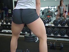 Yes!!! Fitness hot ASS hot CAMELTOE 53