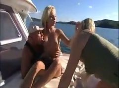 Sharka Blue and Katy Caro 3some Boating.flvArchive