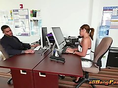 cole rams horny secretary in the office