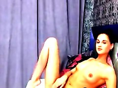 Hot petite babe nude on webcam teasing and seducing with her sexy body and hot pussy