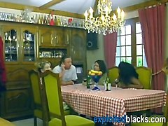 black woman gets warm welcome in german family