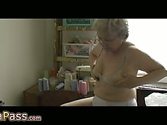 horny grannies are fucking themselves with their organic sex toys