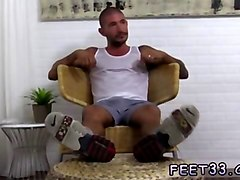 gay hairy men cum feet and  foot porn movies johnny hazzard stomps ricky larkin