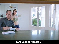 FamilyStokes - Caught Fucking My Step-Dad By Mom