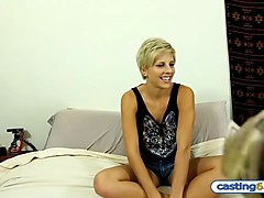 Casting Short Hair Teen