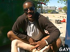 interracial gay in doggie blowjob video 2