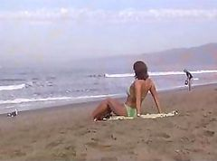 Tube video of a girl from the beach coming in to get fucked