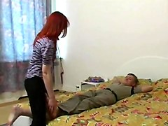 Russian mature fuck with a guy 11