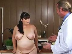Asian BBW fucks her Doc and swallows all