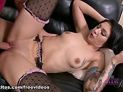 Horny pornstar Aimee Black in Fabulous College, Blowjob adult scene