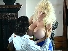 Fabulous pornstar Leeann Lovelace in best blonde, big tits xxx clip