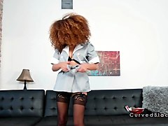 hot hairy cunt ebony maid fucks boss