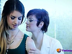 hot lesbian sex in doctor's office