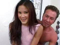 Asian Kitty Gets Her Tight Body Rocked