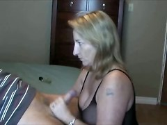 Mature Wife Blows Her Ex Husband