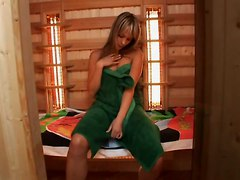 Skinny Teen With Perky Nippels In Sauna