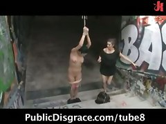 Hot Humiliation Scene In The Streets