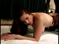 Brunette Wife Blacked In Hotel Room